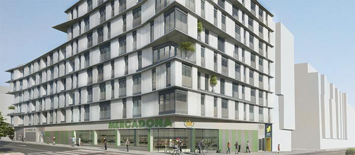 McFit proyecta un gimnasio en un novedoso complejo residencial con 102 viviendas