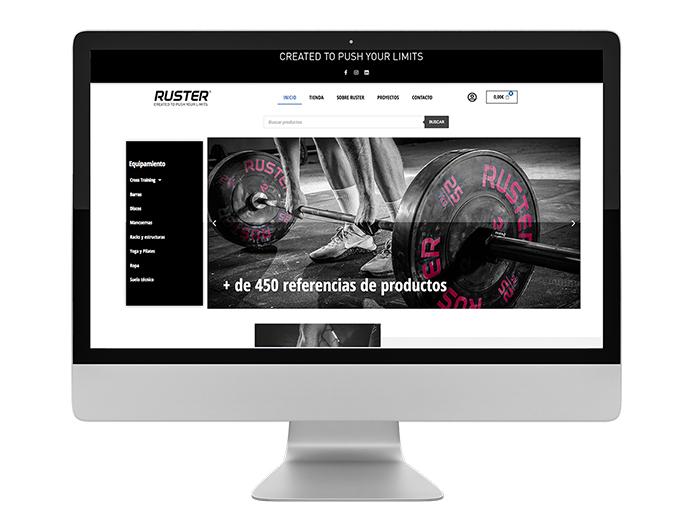 Ruster afianza su progresión lanzando su tienda online