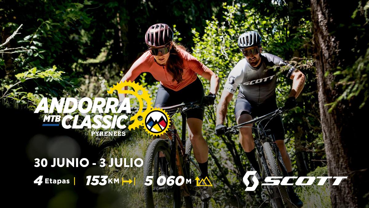 Scott patrocina la nueva carrera Andorra MTB Classic