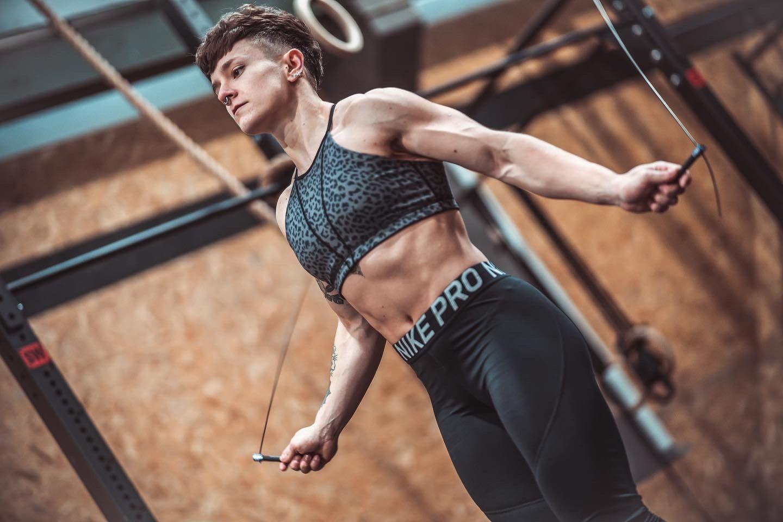 Singular WOD ficha a Oihana Moya, la mejor atleta de CrossFit de España