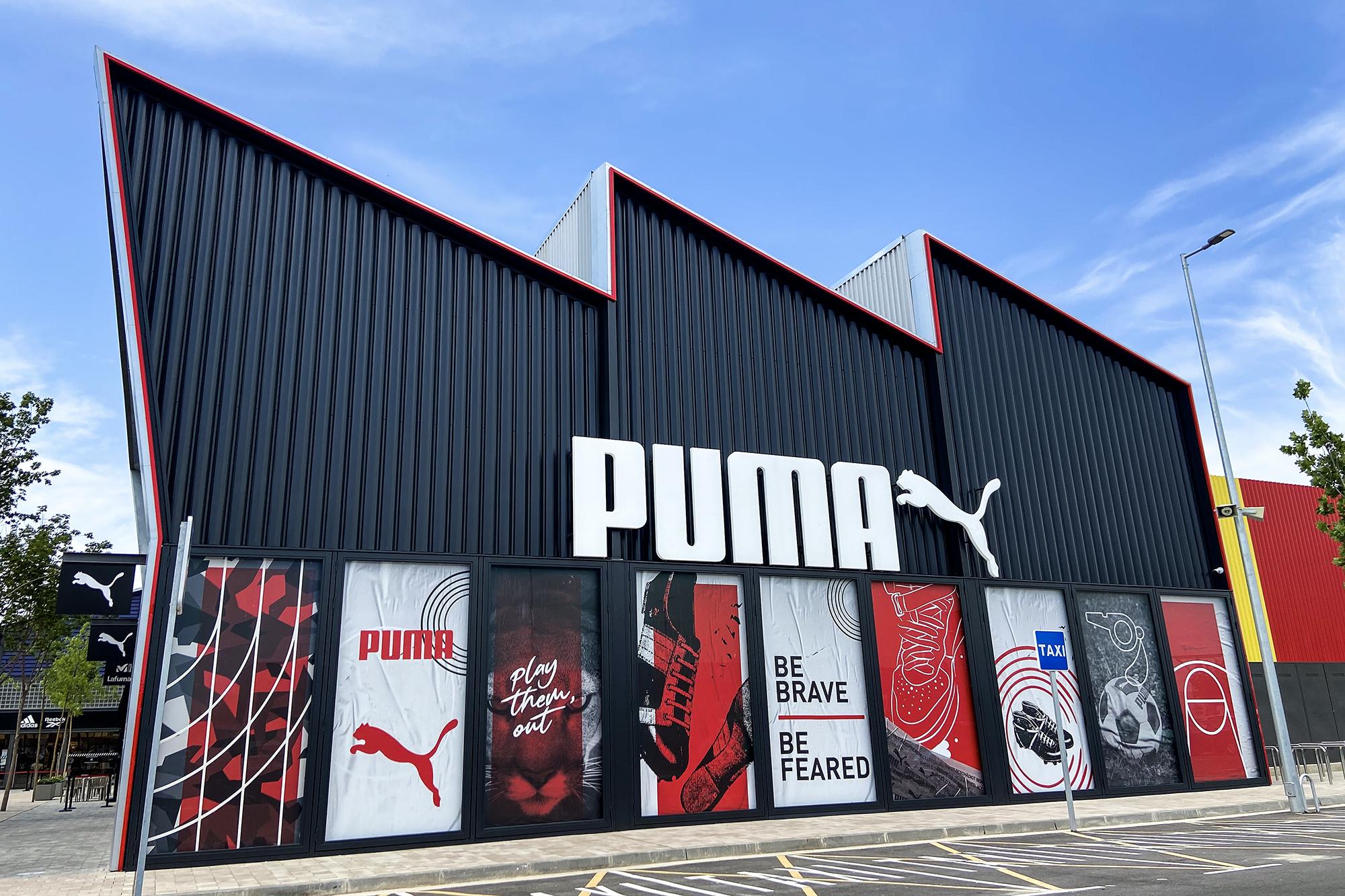 Puma abre su primera tienda en Aragón en La Torre Outlet Zaragoza