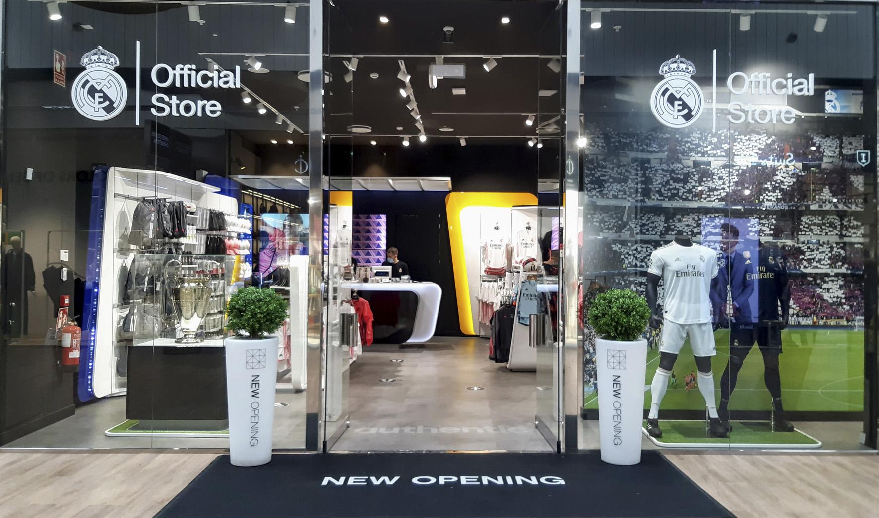 Abre la primera tienda outlet del Real Madrid
