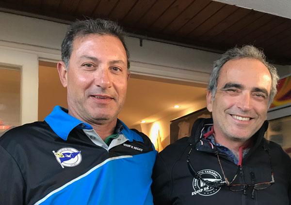 La élite patinista calienta motores en Tamariu como antesala del campeonato de Cataluña