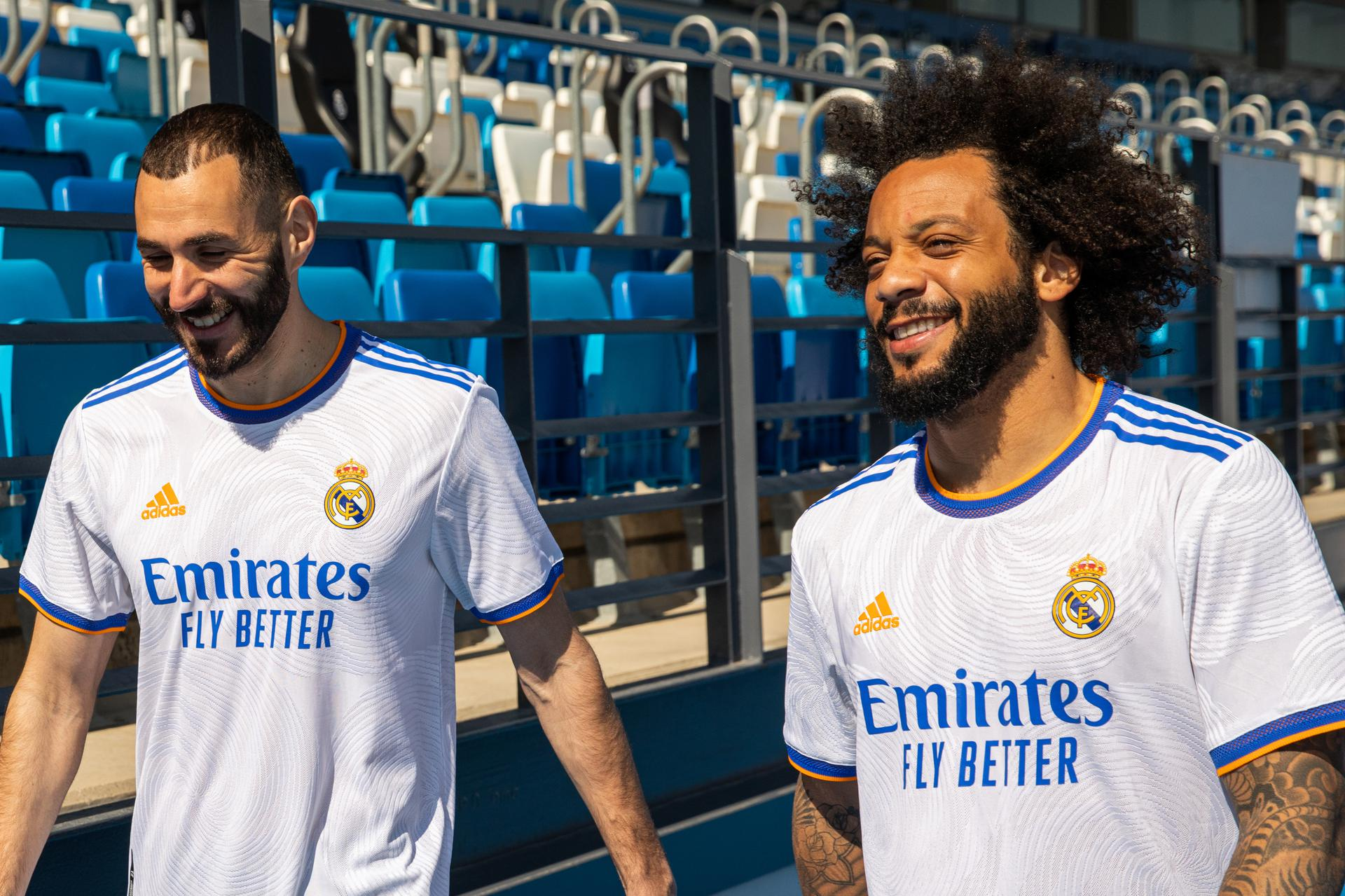 Adidas presenta la nueva camiseta del Real Madrid