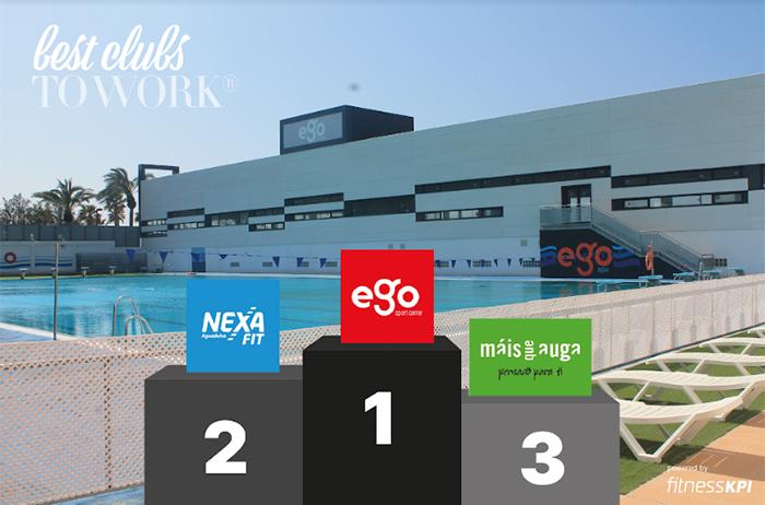 Ego Sport Center vuelve a ser el mejor club de fitness para trabajar en España
