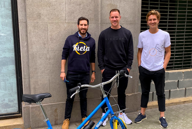 Ter Stegen invierte en una startup que ofrece bicicletas bajo subscripción