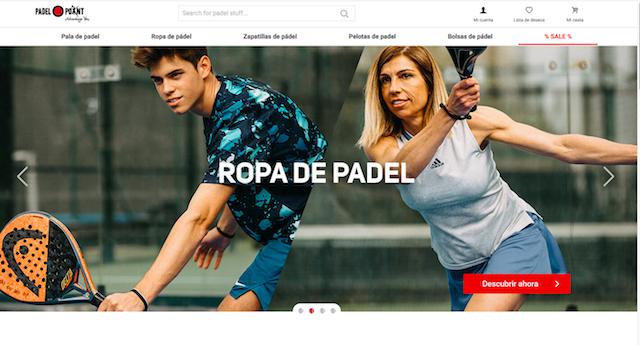 Padel-Point abre sus tiendas online en España y Alemania