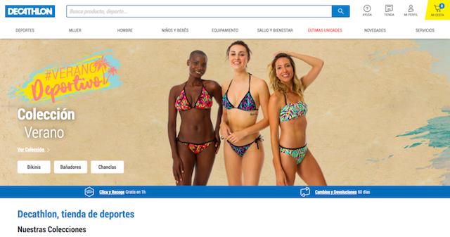 Decathlon activa el sistema de marketplace en su tienda online española
