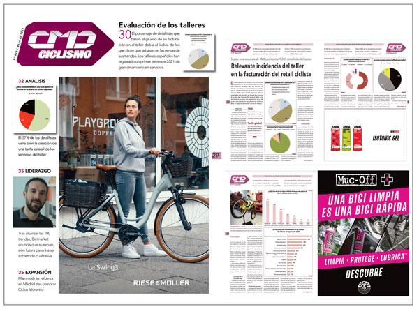 El 32% del retail ciclista basa el grueso de su facturación en el taller