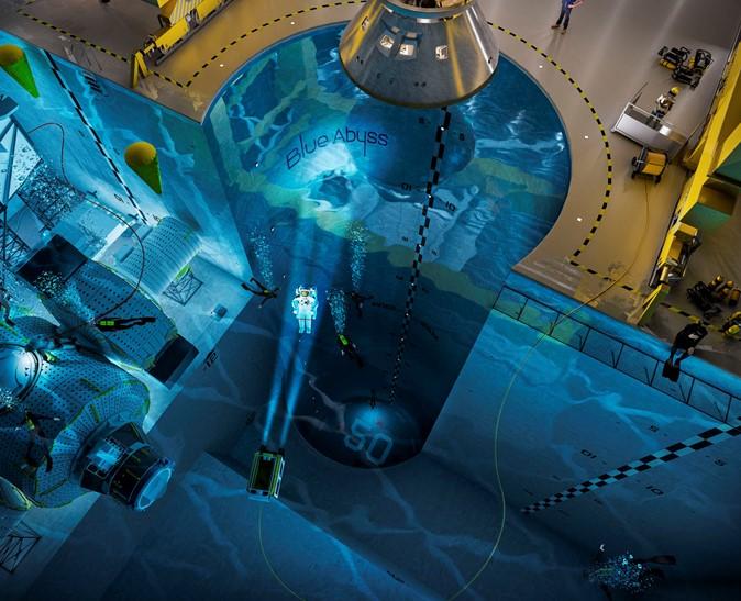 Construyen Blue Abyss la piscina que batirá todos los records del mundo