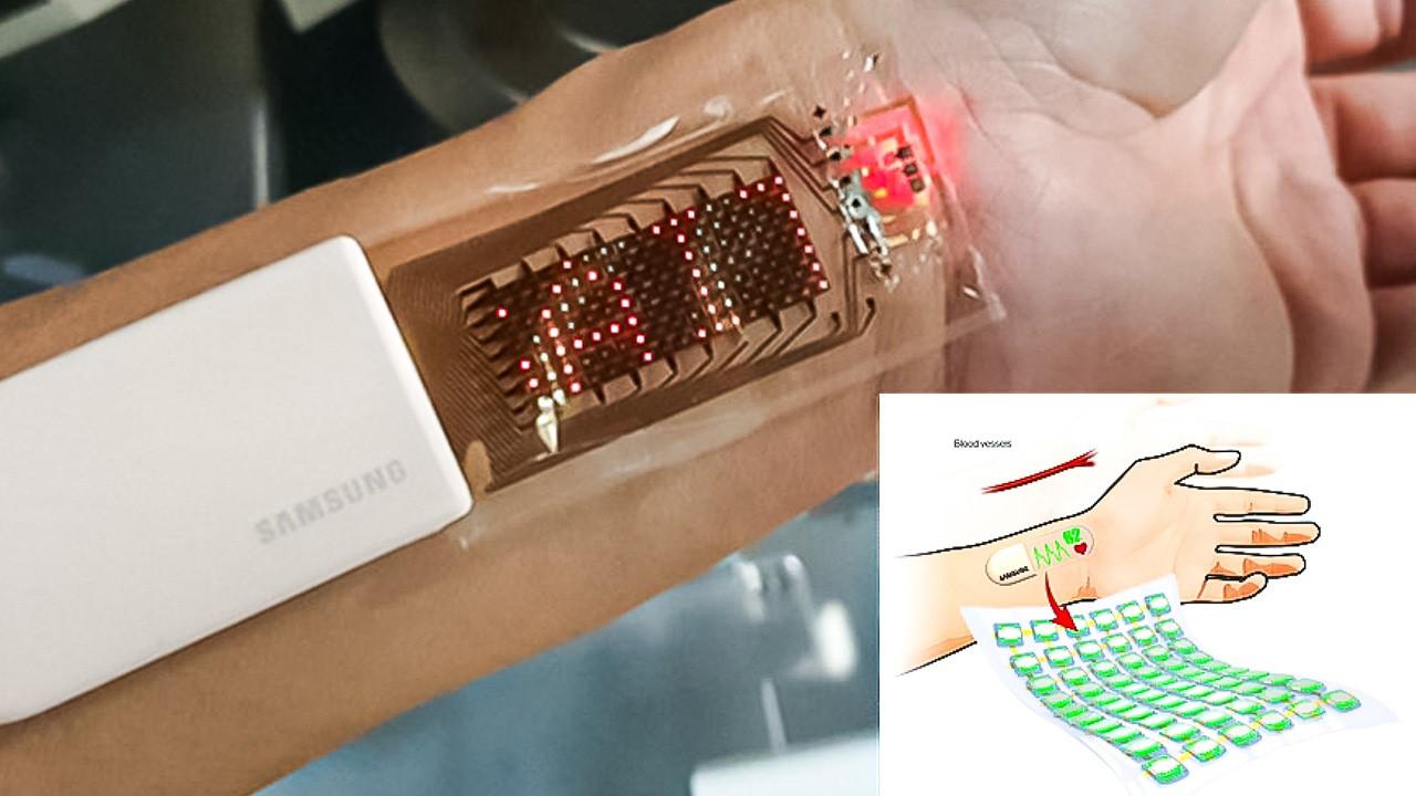 Desarrollan un wereable adhesivo para rastrear la actividad física