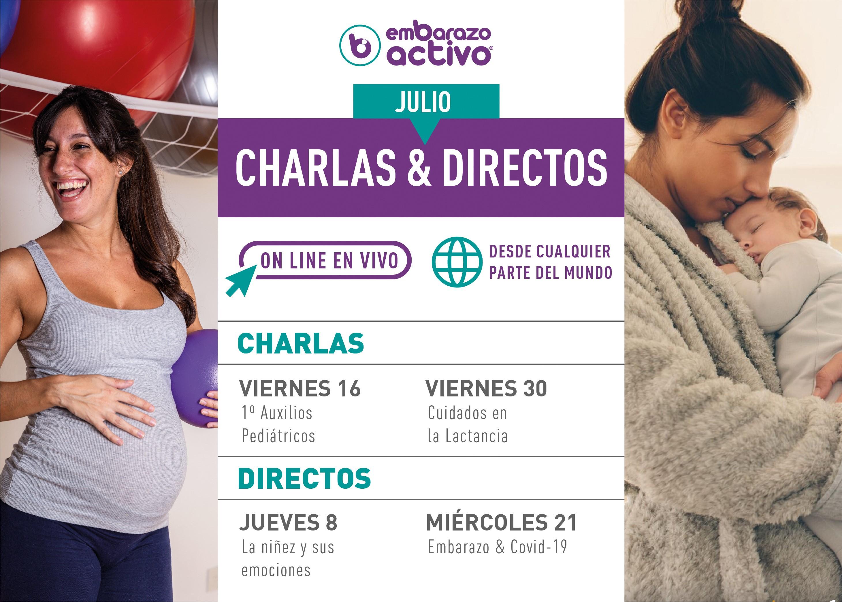 'Embarazo y Covid-19', uno de los directos programados por Embarazo Activo
