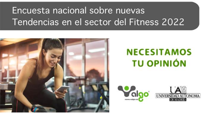 Valgo lanza la sexta edición de la Encuesta sobre Nuevas Tendencias en el Sector del Fitness 2022