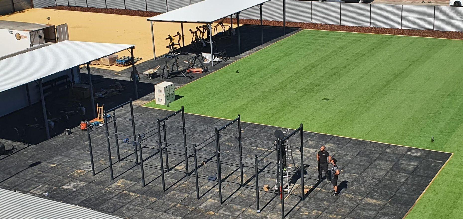 Ensa Sport invierte 150.000 euros en su nuevo espacio exterior de entrenamiento