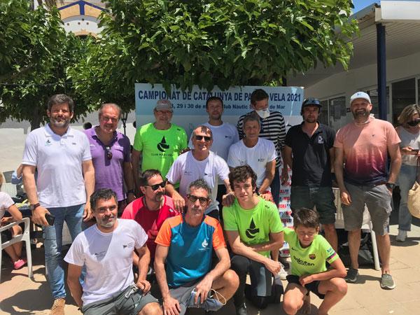 La digitalización lo mejor valorado del campeonato de Cataluña 2021 de patín a vela sénior