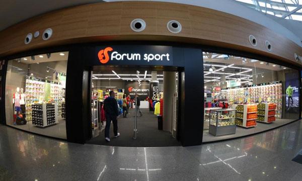 Forum Sport concluye su primer cuatrimestre fiscal con un auge del 6%
