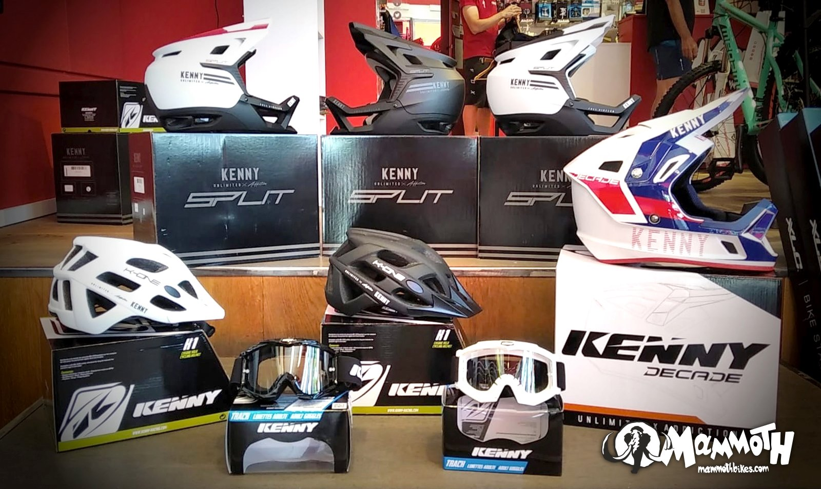 Mammoth incorpora la marca Kenny Racing a su portfolio