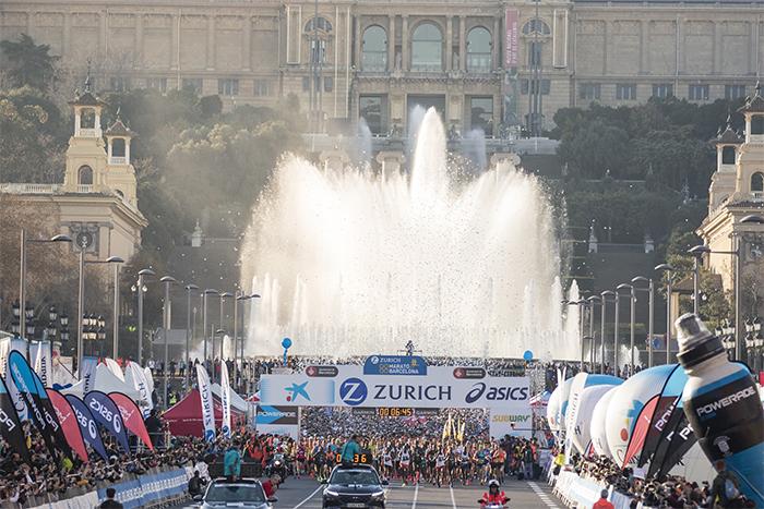 El maratón de Barcelona alcanza los 10.000 inscritos en una semana