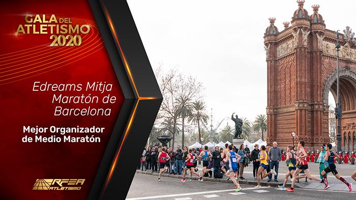 La eDreams Mitja Marató Barcelona, la media maratón mejor organizada de España