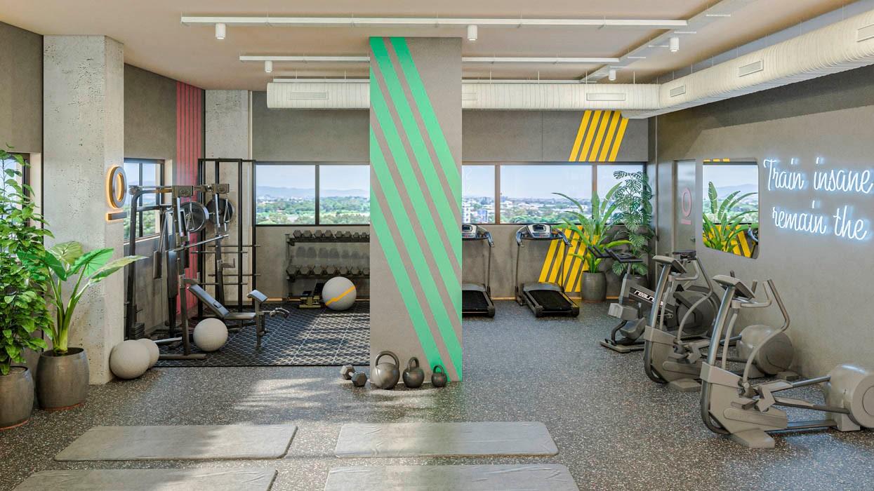 Monday Working Spaces inaugura su gimnasio de Madrid