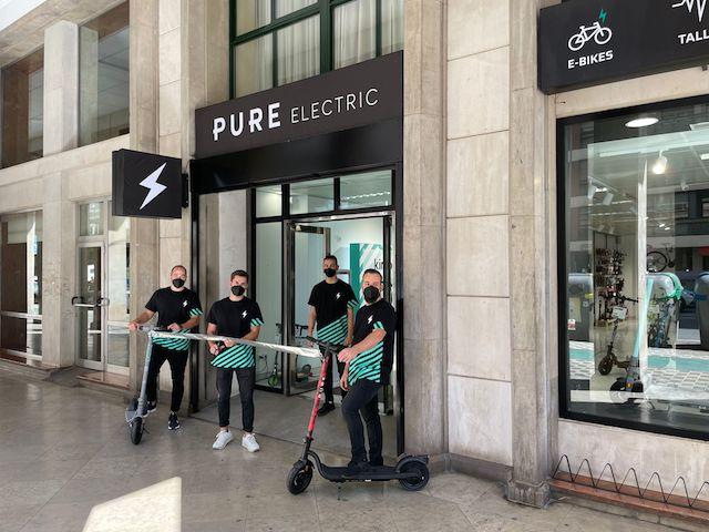 Pure Electric lidera la expansión offline en el retail español de ciclismo