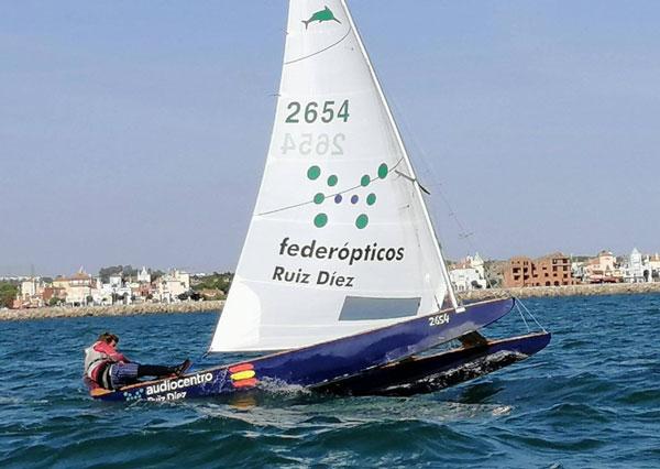 Rafael Ruíz, líder provisional del Campeonato de Andalucía 2021