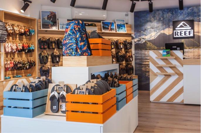 REEF abre una tienda propia en el Mallorca Fashion Outlet