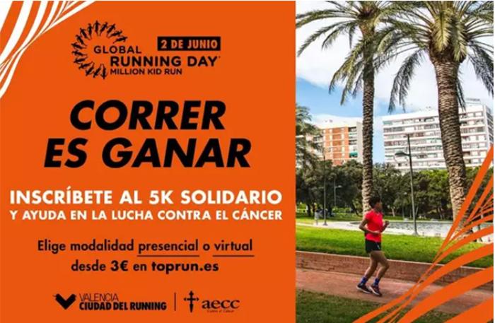 Valencia celebra el Día Internacional del Running por todo lo alto