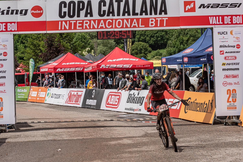 Dídac Carvacho y Sara Gay, vencedores en la Copa Catalana Biking Point la Vall de Boí