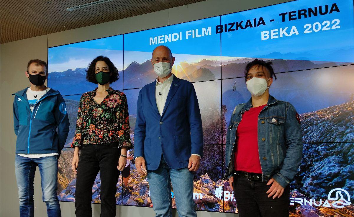 Convocada la segunda edición de la beca Mendi Film Bizkaia-Ternua