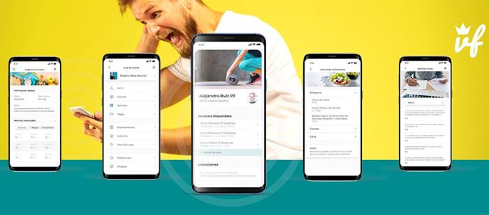 La app Vipfitter se renueva con nuevas funcionalidades