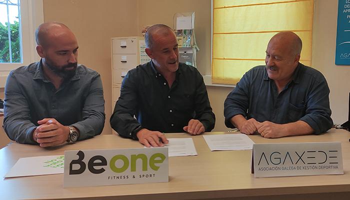 BeOne se une a Agaxede en el apoyo al deporte gallego