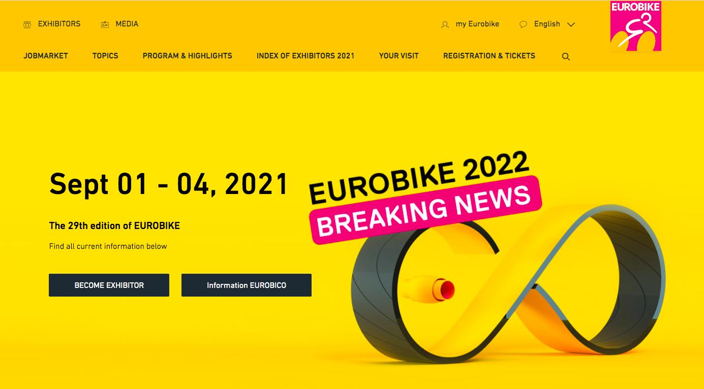 Catorce empresas españolas se han inscrito en Eurobike 2021