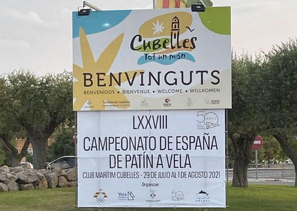 Más de 70 inscritos en el Campeonato de España 2021 de patín a vela sénior