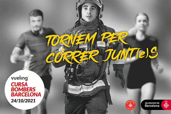 La Cursa Bombers Barcelona vuelve este octubre con plazas limitadas