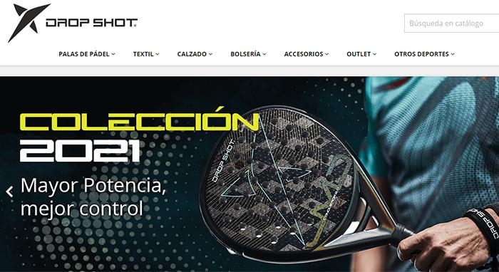 Drop Shot potencia su presencia online con una renovada web