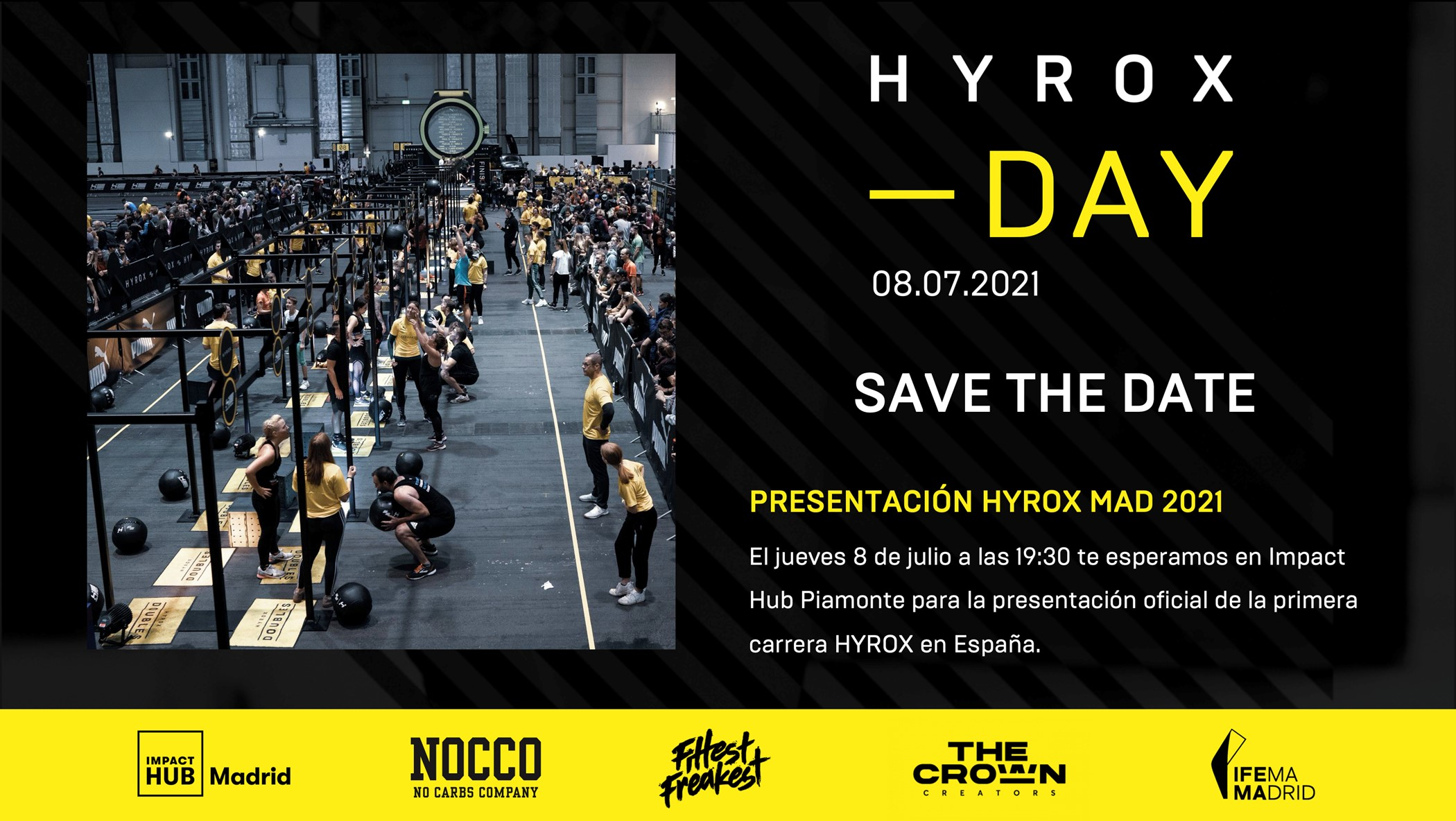 El fitness y el running se unen en la competición Hyrox