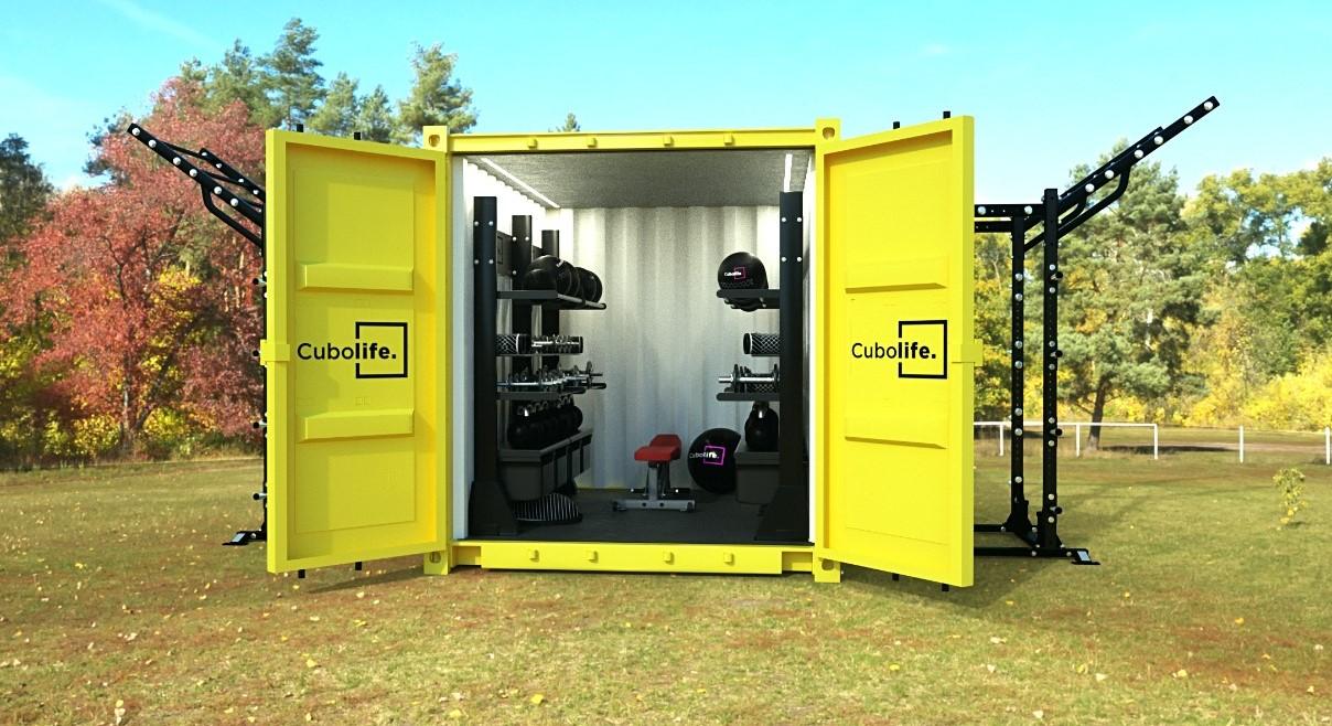 Cubolife instalará su primer gimnasio modular low cost en Jerez