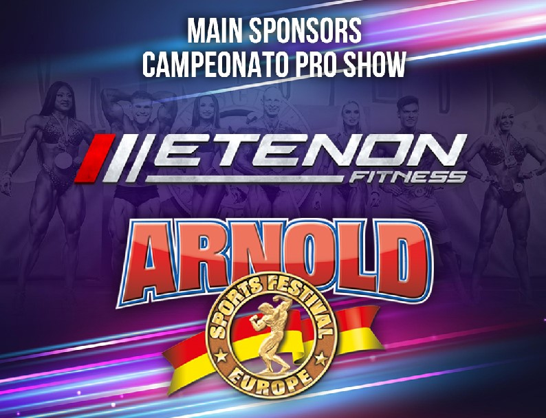 Etenon Fitness será el patrocinador principal del Pro Show de Arnold Classic