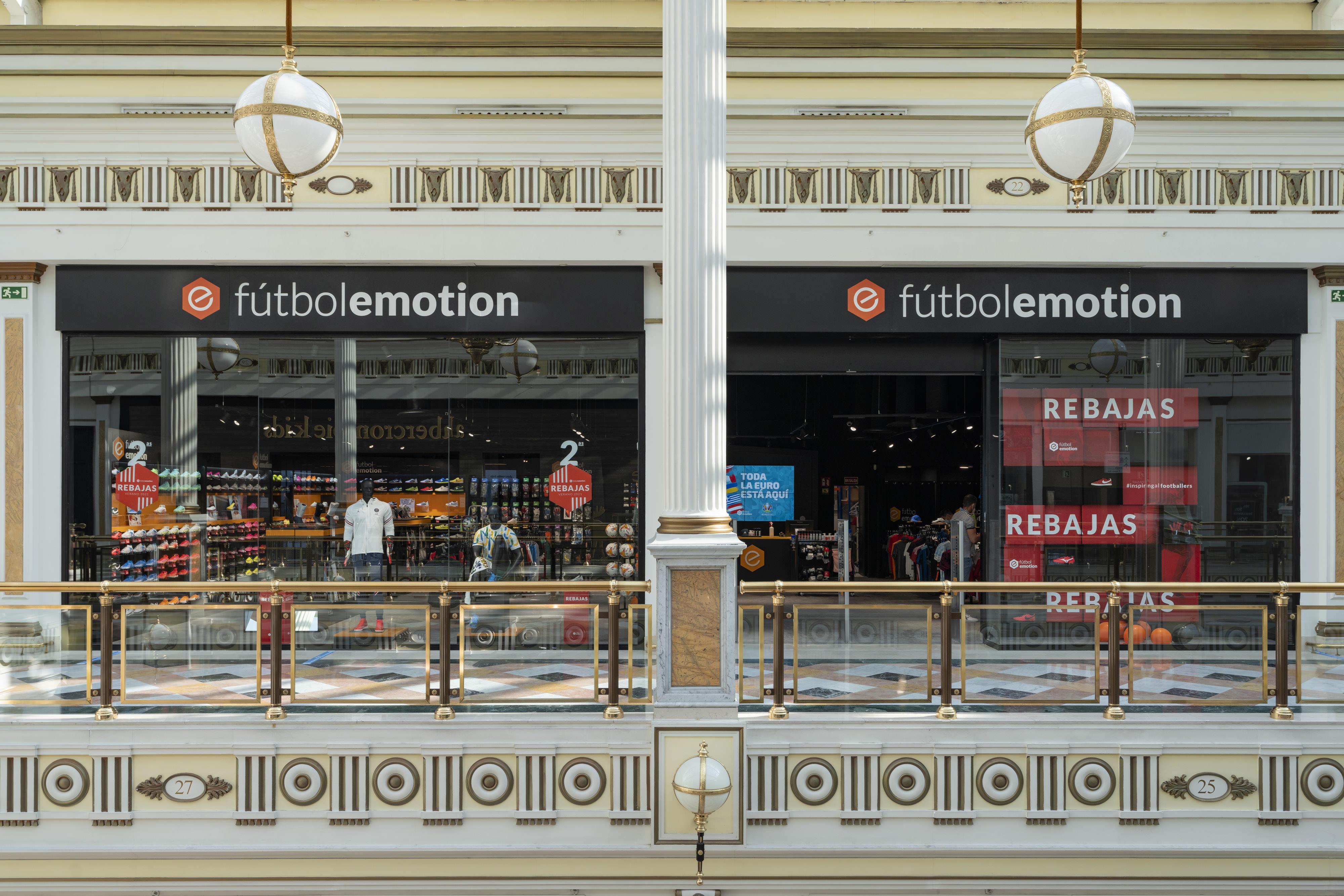 Fútbol Emotion abre su segunda tienda en Madrid