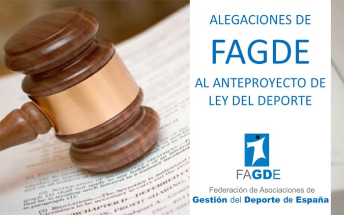 Fagde incluye la rebaja del IVA a los gimnasios en sus alegaciones a la futura Ley del Deporte