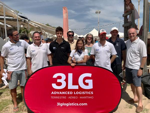 Doblete triunfal del Club Nàutic Sitges en el Trofeo 3LG 2021