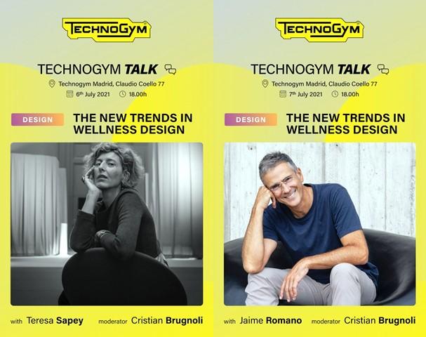 Las Technogym Talks llegan a Madrid para debatir sobre el diseño Wellness
