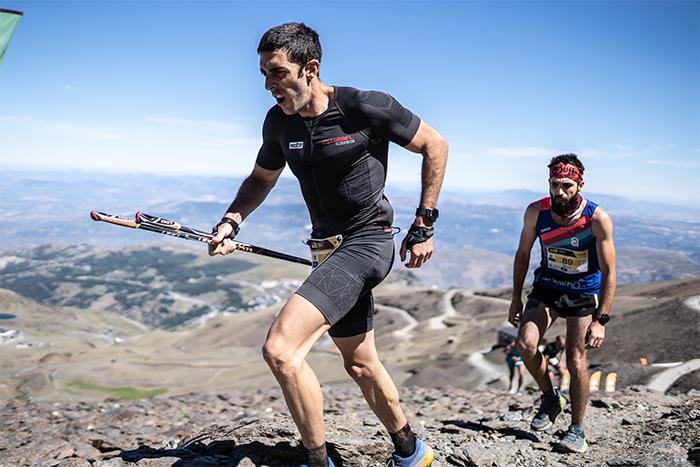 Trail runners profesionales ponen a prueba el nuevo mono Trail Pro de Lurbel