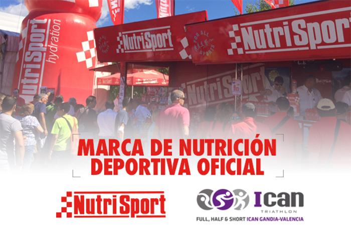 Nutrisport pondrá la nutrición deportiva del Ican Triathlon Gandia 2021