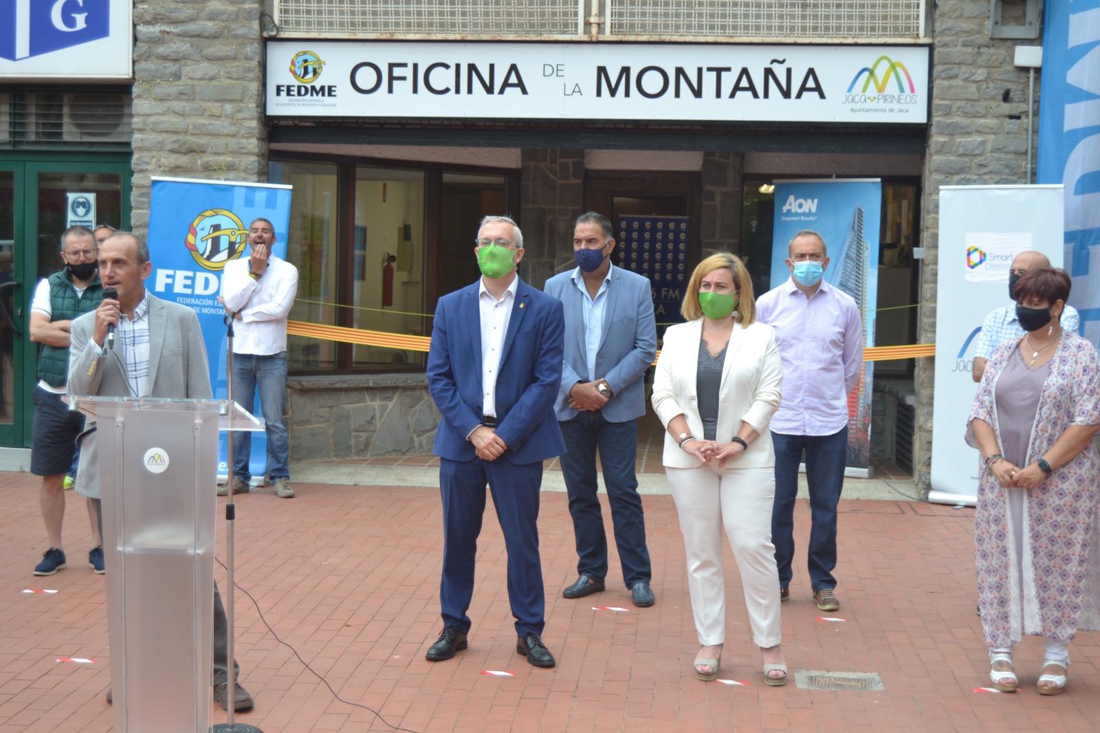 La FEDME abre una Oficina de la Montaña en Jaca