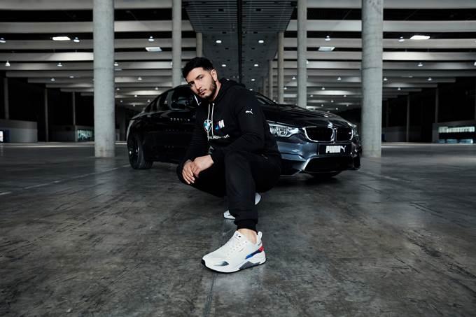 Puma presenta su colección BMW M Motorsport con Omar Montes
