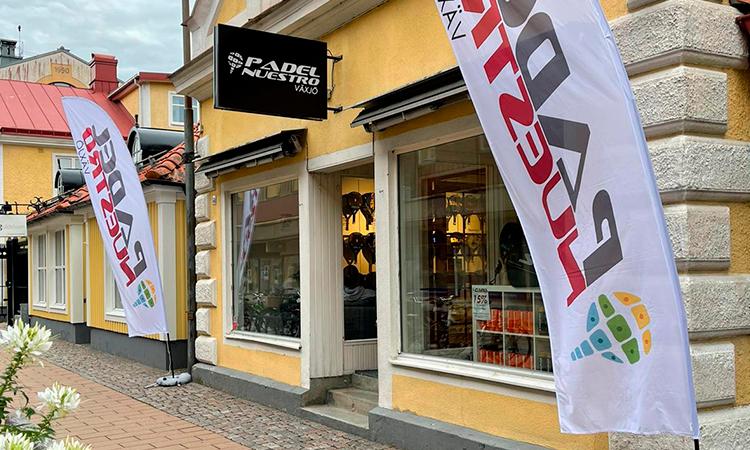 Padel Nuestro abre su cuarta tienda en Suecia