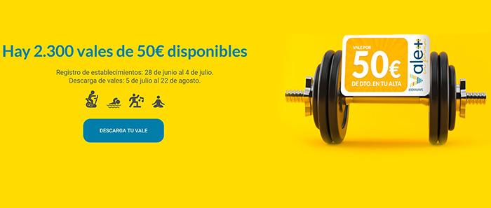 Santander impulsa una campaña que inyectará 115.000 euros en los gimnasios de la ciudad