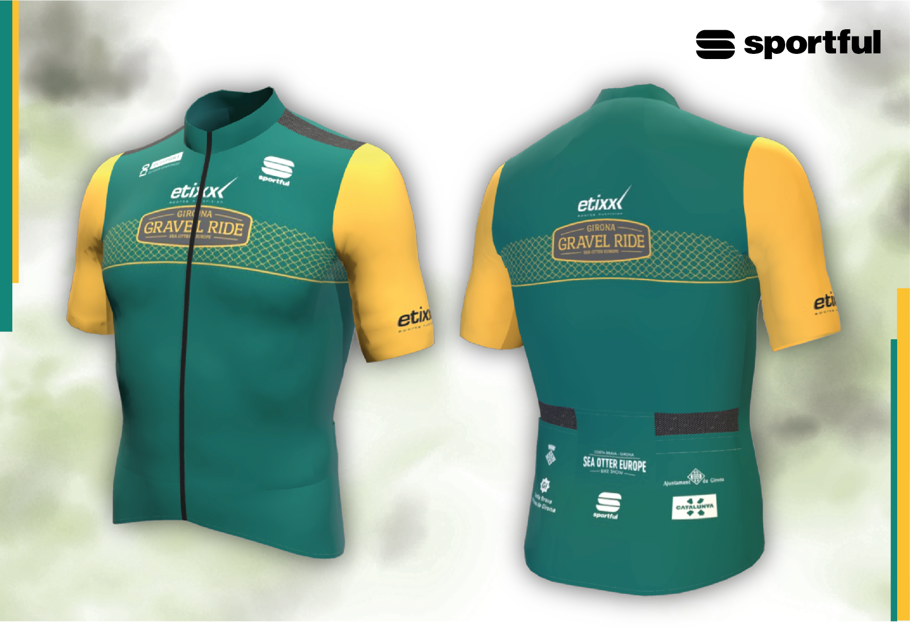 Sportful desarrolla una edición limitada para el maillot de la Girona Gravel Ride